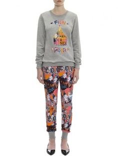 Markus Lupfer Pigeon Love Collage Sweat Joggers