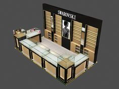 Luxury Quality Custom-Made On-Time Delivery Luxury Jewelry Cabinet/Kiosk/Showcase For Showroom Display