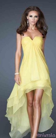 Yellow Dress Will Make You Pretty And Fresh 30