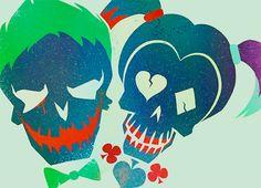 'Suicide Squad' Joker & Harley Poster