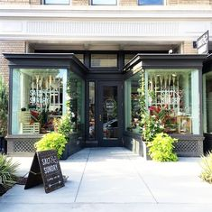 Great storefront! // Where to Shop in Washington, DC: Salt & Sundry