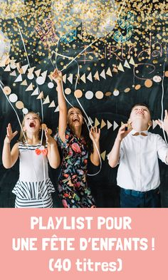 DJ Fiesta de Festimini vous a concocté une playlist des tubes incontournables de l'année que vos enfants connaissent par coeur !  Découvrez 40 titres qui feront danser vos enfants ! Party, Dance In, Birthdays, Children, Weddings