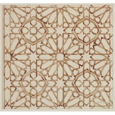 Drawing of wall decoration from the Alhambra | Jones, Owen | V&A Search the Collections