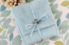 DIY: Felted Jewelry Pouch | eHow Crafts