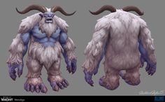 ArtStation - World of Warcraft - Wendigo, Matthew McKeown