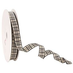 Wired ribbon is great for adding that extra touch for all of your packaging needs. The gingham design is available in a range of colours.