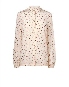 Boutique by #Jaeger ladybird printed shirt in 100% #silk
