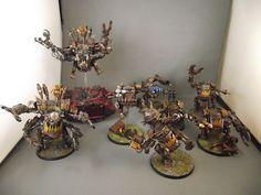 Warhammer 40k   Orks   Killakanz and deffdread #warhammer #40k #40000 #wh40k…
