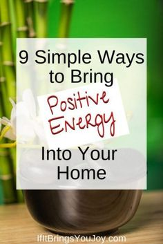 Invite positive energy into your home with simple and affordable ideas. a sanctuary to retreat from stress and feel calm. Fill your home with positive energy using these tips from decor to color, plants to accessories, and more. Feng Shui Principles, Feng Shui Tips, Energy Use, Good Energy, Removing Negative Energy, Positive Vibes, Positive Energy Quotes, Body Positive, Positive Affirmations
