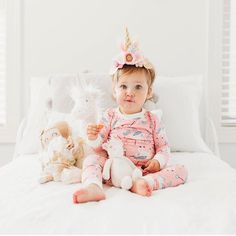 """acfa313a77 Little Sleepies on Instagram  """"Unicorns are dangerously close to selling  out in a few sizes of both two-piece and convertible sleeper styles!"""