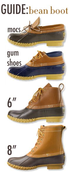 A prepster's essential fall favorite, the #BeanBoot ! // TheCollegePrepster.com - #LLBean #DuckBoots #Preppy