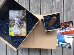 LeeLou Wedding Photography Gift Box - Creative Hemp Collection