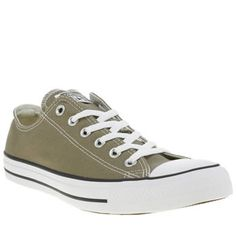 Converse Khaki All Star Ox Mens Trainers Converses most iconic profile gets a slick khaki update for the new season, as the Chuck Taylor All Star Ox arrives. The canvas profile features white decorative stitch detail, with mono branded accen http://www.MightGet.com/january-2017-13/converse-khaki-all-star-ox-mens-trainers.asp