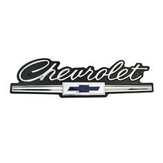 Vintage Chevy Emblem