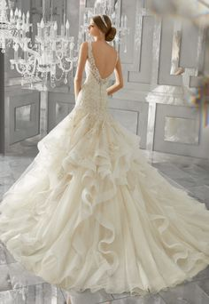 Featured Wedding Dress: Morilee by Madeline Gardner