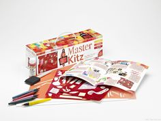 Master Kitz lets kids recreate famous paintings. Great for a pre or post museum visit. I like the kid friendly artist bio too.
