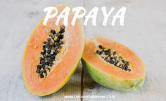 Papaya - exotische Frucht für den leckeren Genuss