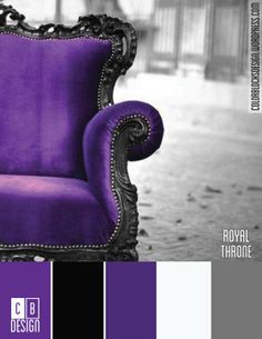 Royal Throne | Color Blocks Design