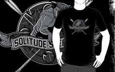 Solitude Skeevers, Skyrim's favourite Skeeverball team. http://www.redbubble.com/people/synaptyx/works/8438462-solitude-skeevers
