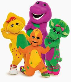 kids barney - Barney was one of my favorite shows when I was younger. Anytime I would spend the Summer with my grandparents my grandpa would always watch barney with me and entertain me. I remember learning the songs and stuff. Childhood Memories 90s, Childhood Tv Shows, Barney The Dinosaurs, Barney & Friends, Kids Tv Shows, Pbs Kids, 90s Cartoons, My Children, American Children
