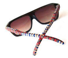 Recycled Skateboard Sunglasses - Eyewear.