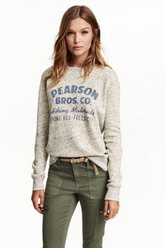 H&M - Printed sweatshirt £19.99