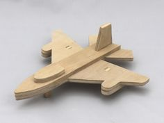 Airplane Toys, Airplanes, Handmade Wooden Toys, Small Boy, Baltic Birch Plywood, Wood Toys, Kids Toys, Fighter Jets, Etsy Seller