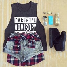 Black Sleeveless Letters Print Vest