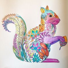 Johanna Basford   Picture by Cheryl A   Colouring Gallery