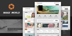 ImageWorld - PSD Templates by SpringMud This is a clean fresh photography blog layout design, also suitable for personal websites, and studio works show. Features: 5 Full