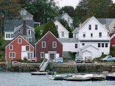 North Haven, Maine by troutwerks, via Flickr