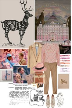 """Film Review: The Grand Budapest Hotel"" by bittersweet89 on Polyvore"