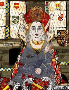 Lady Anne Beauchamp, 16th Countess of Warwick (13 July 1426 – 20 September 1492) was the daughter of Richard Beauchamp, 13th Earl of Warwick, and his second wife Isabel le Despenser, a daughter of Thomas le Despenser (22 September 1373 – 13 January 1399/1400) and Constance of York. Anne Beauchamp was the mother of Anne Neville, Queen consort of England as the spouse of King Richard III.
