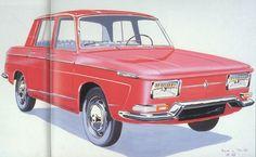 OG | 1965 Renault 10 Major | Design sketch by Michel Boué dated March 1963