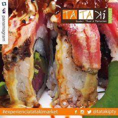 #Repost @panamagram with @repostapp.  Ven a disfrutar de la calidad y sabor de @tatakipty estamos ubicados en plaza 61 calle 61 de Obarrio ubicanos por Waze.  Un lugar para descubrir saborear y disfrutar.  #TatakiMarket #food #drink #sushi #cócteles #experienciatatakimarket #sabores #sushi #tataki #fusion #panama #pty #ptyfood by tatakipty