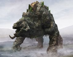 Titanus Methuselah, one of the new Titans from Godzilla: King of the Monsters. Godzilla Suit, Godzilla Vs, Creature 3d, Creature Design, Fantasy Monster, Monster Art, Fantasy Creatures, Mythical Creatures, Godzilla Franchise