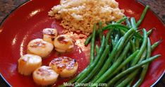 These scallops are so easy to make at home.  Easy and delicious!