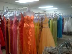 We have a never ending supply of party and evening dresses for every occassion.