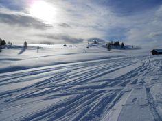 Dezember Schnee Dolomiten
