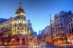 If I wold you what I did in Madrid...!