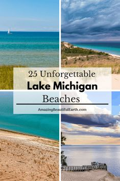 25 Unforgettable Lake Michigan Beaches The Amazing Beautiful Earth beauty beaches Torch Lake Michigan, Lac Michigan, Traverse City Michigan, Lake Michigan Beaches, Holland Michigan, Michigan Vacations, Michigan Travel, Lakes In Michigan, Higgins Lake Michigan