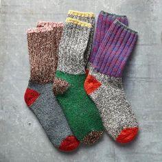RAGG TIME SOCKS, SET OF 3 -- Toasty warm and stylish. Merino wool blend socks from Woolrich®. One size fits most adults. Set of 3 pair. Wool Socks, Knitting Socks, I Love My Daughter, Crochet Yarn, Yarn Crafts, Textiles, Merino Wool, Wool Blend, Pattern