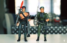 RAMBO JOHN & Colonel TRAUTMAN - Coleco - 1985 Demolition Man, Rambo, Rocky Balboa, The Expendables, Bruce Willis, Sylvester Stallone, Iconic Characters, Cool Toys, My Childhood