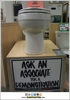 Sanitaryum | Clean Funny Pics & Clean Humor •   Pretty sure i don't want/need a demonstration!
