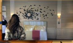 DIY - décorer un mur de papillons