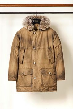 Woolrich Parka - Aged to perfection AW13