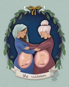 Blessed Mother Mary, Blessed Virgin Mary, Catholic Art, Religious Art, Idees Cate, Religion Catolica, Prophetic Art, Biblical Art, Jesus Art