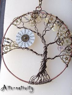 Steampunk Tree of Life LOVE it~