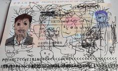 Little Boy's Passport Doodles Reportedly Get Dad Stuck In South Korea