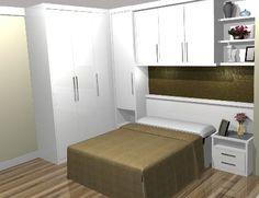 Resultado de imagem para imagens de quartos pequenos planejados